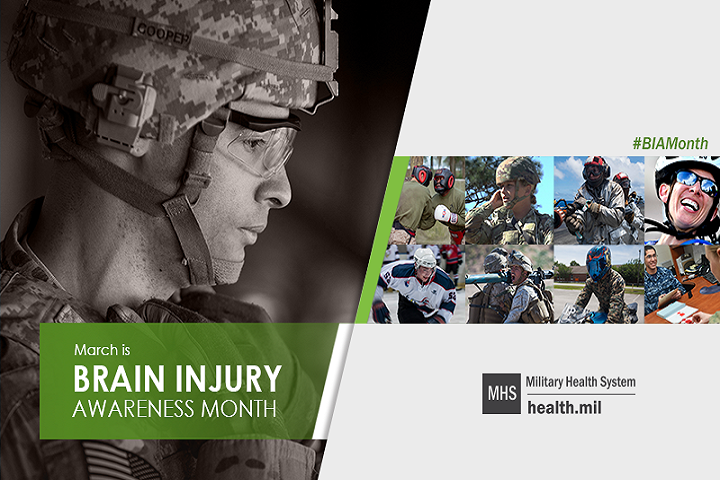 health.mil march is brain jury awareness month