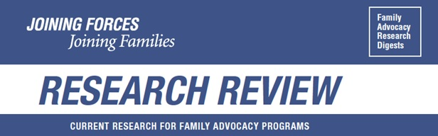 JFJF Research Review Logo
